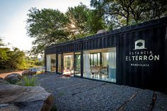 BAP Arquitectura Convert a Shipping Container into a Sales Office. It seems that there's no end to the potential uses of shipping containers. This particular container was converted into a sales gallery for country club in