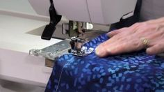 Using the Cloth Guide on the Janome MC9400 | Janome Life Janome, Masking Tape, Sewing, Life, Clothes, Board, Duct Tape, Outfits, Dressmaking