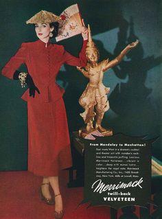 October Vogue 1958