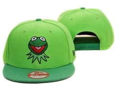 Kermit the frog snapback hat green new era 9fifty online for sale d00a2dd97d68