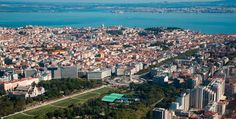 Vista Aérea de Lisboa - Portugal