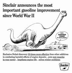Detail From 1964 Advertisement For Sinclair Oil Vintage