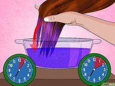 How to Dip Dye Hair with Kool Aid. Kool-Aid is a fun, cheap, and easy way to temporarily dye the ends of your hair! Start by grabbing packages of Kool-Aid in the color of your choice. Hair Dye For Kids, Kids Hair Color, Hair Colors, Diy Hair Dye, Dip Dye Hair, Dip Dyed, Kool Aid Dip Dye, Temp Hair Color, Kool Aid Hair