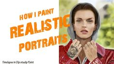 This timelapse shows how I paint realistic portraits. I had the pleasure of painting this great actress. I also made an intro video for all my videos in Blen. Ruby Rose, My Arts, Portraits, Actresses, Painting, Instagram, Female Actresses, Painting Art, Paintings