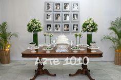 comemoração bodas de prata simples feita em casa - Pesquisa Google