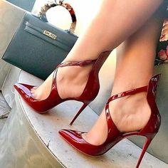 Mode Frauen Peep Toe High Heels Schuhe # Frauen # Räder # Schuhe - Heels,shoes and Boots - Shoe Cute Shoes, Women's Shoes, Me Too Shoes, Shoe Boots, Red Shoes, Shoes Sneakers, Dance Shoes, Shoes Style, Casual Shoes