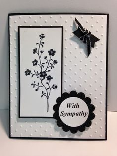 My Creative Corner!: A Morning Meadow Sympathy Card