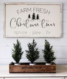 Modern Farmhouse Holiday Decor
