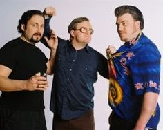Julian, Ricky and Bubbles from the Trailer Park Boys!