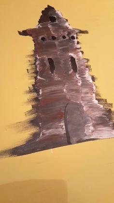 Leuchtturm; Arcyl auf Leinwand; 60x80 cm
