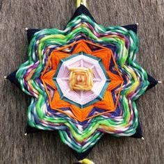 """Mandala """"grande fiore """" - ojo de dios"""