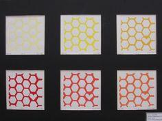 Kayla Eble - Printmaking - Linoleum Block Print Pattern - Junior - 2011-2012