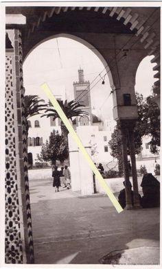 MARRUECOS MINARETE - ¿Es la plaza de españa en Tetuan? ¿o es alcazarquivir?