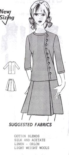 1960s Junior Two Piece Dress