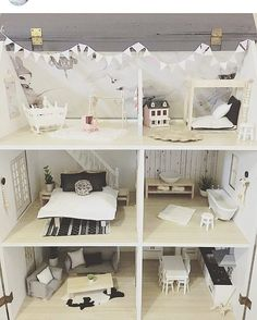 Combo of 13 Items 1:12 Scale Dollhouse Miniature Living Room Furniture Toy