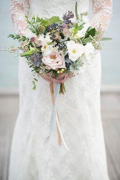 Smokey Neutral Bridal Bouquet | by coriander.girl