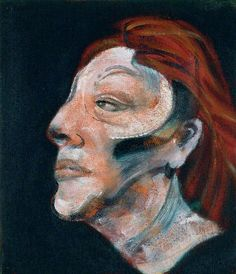 * Three Studies for a Portrait of Isabel Rawsthorne (panel 2 of 1965 Francis Bacon Francis Bacon, Michel Leiris, Lard, Pablo Picasso, Art Uk, Print Artist, Famous Artists, Painting & Drawing, Painting Portraits
