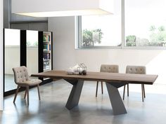 Bontempi Casa Fiandre Dining Table - Natural Edge by Silvia & Maurizio Varsi - Chaplins