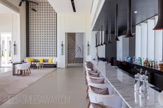 The next, on my list of visits was a five star resort named Cheval Blanc Randelhi which is adequately known as the Luis Vitton resort, as the company LVMH (Louis White Restaurant, Beautiful Hotels, Luxury Travel, Maldives, Playroom, Table, Furniture, Design, Home Decor