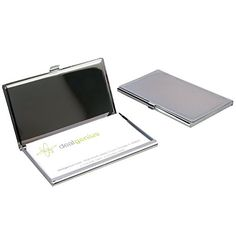 2 Journey Pocket Enterprise Card Holders Instances Moveable Engravable Chrome End Once you need individuals to assume you are knowledgeable, it is all the