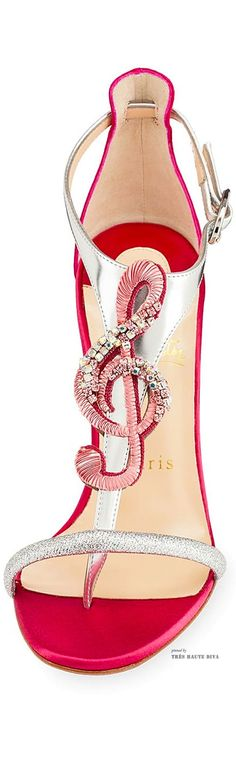 Christian Louboutin 'Melodie'// When your love for shoes meets your love for music