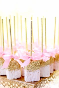 Loving the party dessert at Princess Kaylah's Baby Shower! See more party ideas and share yours at http://CatchMyParty.com