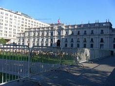 La Moneda, Santiago de Chile.