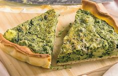 Bases de la cocina #vegetariana y #vegana + #receta de quiche de espinacas