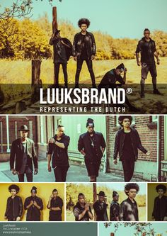 Official luuksbrand collection 2014 The official Luuksbrand 2014 collection added to this digital book. Two exclusive items will be added to the collection this month REPRESENTING THE DUTCH www.luuksbrand.com Follow us @ Facebook   Instagram   Pinterest