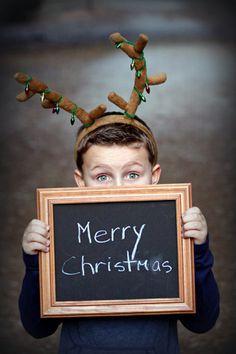 Cutest Christmas card photo EVER.  :)