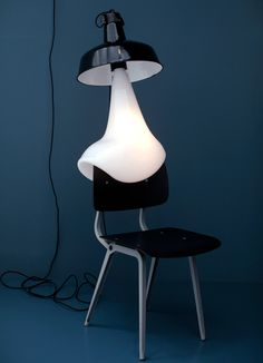 'light bulb (chair)' by pieke bergmans