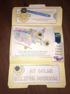 Solar Eclipse 2017 - Lapbook Learning & Keepsake and PowerPoint