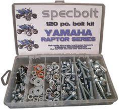 250 pc Yamaha Specbolt Fasteners Bolt Kit Raptor 700 660 600 350 250 125 90 80 YFM Model Series ATV
