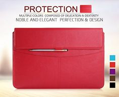 Best price on Surface Pro 4 Case Sleeve, Surface Pro 3 Case Sleeve, FYY® Premium Leather Sleeve Case with Pockets for Microsoft Pro 3 (2014 Version) / Surface Pro 4/ ASUS Transformer Book T300 Chi (with exquisite stylus for free) Red See details here: http://buyphonesgadgets.com/product/surface-pro-4-case-sleeve-surface-pro-3-case-sleeve-fyy-premium-leather-sleeve-case-with-pockets-for-microsoft-pro-3-2014-version-surface-pro-4-asus-transformer-book-t300-chi-with-exquis/ Truly the best deal…