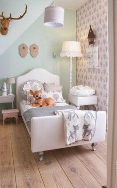 Kleur | Inspiratie voor de Babykamer & Kinderkamer in mintgroen www.stijlvolstyling.com
