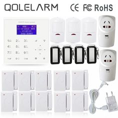 139.83$  Watch here - http://alibtv.shopchina.info/go.php?t=32765212890 - 433mhz wifi gsm alarm wireless home security alarm system with smart home appliance control socket home automation 139.83$ #aliexpressideas #HomeAppliances