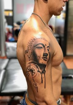 Buddhha tattoo compass ink, tattoo cosav - Buddhha tattoo compass ink, tattoo cosav You are in the right place about Buddhha tattoo compass ink - Tattoos 3d, Yoga Tattoos, Time Tattoos, Body Art Tattoos, Tattoos For Guys, Sleeve Tattoos, Tatoos, Buddha Tattoo Design, Shiva Tattoo Design