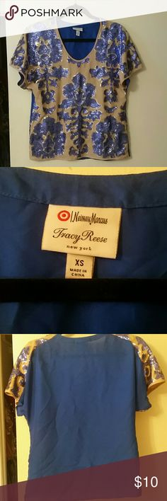 Neiman Marcus sequin top Tracy Reese for Target.  Worn once Tracy Reese Tops