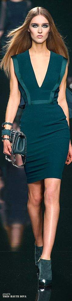 Elie Saab Fall/Winter 2014 RTW - Paris Fashion Week / love this color!!