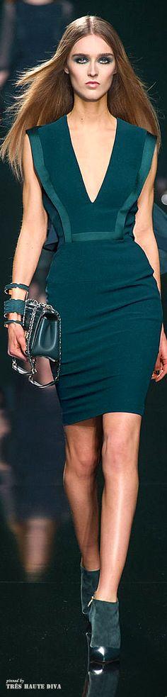 Elie Saab Fall/Winter 2014 RTW - Paris Fashion Week / love this color!!