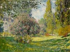 Image result for the parc monceau Monet