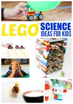 The Unofficial Guide to Learning with LEGO has fun and education LEGO activities for your favorite brick loving kid. Science, math, social s...