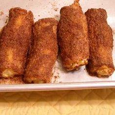 Crispy Cinnamon Rollups Allrecipes.com