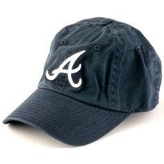 2cd9893a100 Atlanta Braves Adjustable Ballpark Slouch Cap by American Needle  18.95  AtlantaBraves  Mlb Baseball Caps