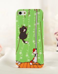 Niconico Cat Killing Curtains iPhone 5/5s Cover