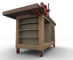 Mobile Workbench Ideas | Workbench Project for Ideas (lots of photos)