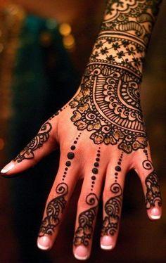 Beautiful hand design