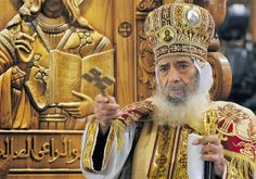 Pope of the Coptic Orthodox Church of Alexandria – Voices from Russia Funeral, Pope Shenouda, Spiritual Beliefs, King James Bible, World Religions, Adam And Eve, Life Magazine, Religious Art, Alexandria