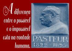 File:A diferença entre o possível e o impossível está na vontade humana. Louis Pasteur, 1822-1895 -pt.svg