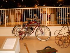 """This picture is from my video titled """" 1946 Whizzer Motor Bike """" that can be viewed at youtube.com/viewwithme and can now be bought on your favorite items at Cafe Press titled """"1946 Whizzer Motor Bike"""" designed by; Doris Anne Beaulieu"""